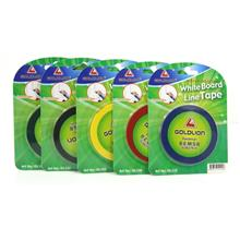 White Board Line Tape Color PVC Border Lining Tape 3mm 5mm