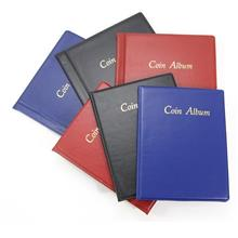 Coin Collection Album Folders Stock Book Storage Holder