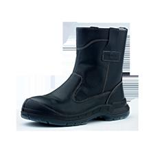 Safety Apparel Shoes King's Men High Cut Pull On Black KWD805