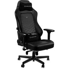 NOBLECHAIRS HERO GAMING CHAIR - BLACK/PLATINIUM WHITE