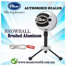 Blue Microphones Snowball USB Microphone Mic With Stand and Cable (Bru