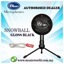 Blue Microphones Snowball USB Microphone Mic With Stand and Cable (Glo