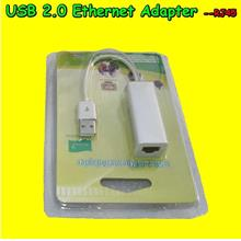 USB Fast 2.0 Ethernet LAN Network RJ45 Adapter Android TV Dongle MK808 MK809
