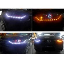 Toyota VIOS '13-14 Projector Head lamp Black 2-Function LED DRL R8