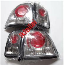 Honda Accord SV4 '96 Tail Lamp Crystal Round Red/Clear