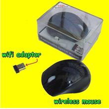 2.4 GHz Optical Wireless Mouse computer Android tv box dongle MK808 MK