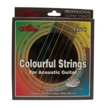 Alice A407C Acoustic Guitar Colourful Strings .011/.052