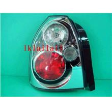 Honda Civic 3D '96-00 Hatch Back Crystal Tail Lamp IS200 Look [CLear H