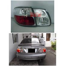 DEPO Nissan Sentra '00-03 Crystal Tail Lamp [Clear/Red]