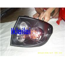 Hyundai Getz 02 Tail Lamp Crystal LED Black [HY01-RL01-U]