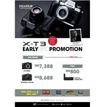 Fujifilm X-T3 XT3 Mirrorless Digital Camera Body (MSIA) Pre-Order