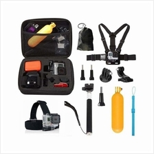 10 in1 Straps Accessories Kit for GoPro Hero 5 4 Session 3+ 3 YI