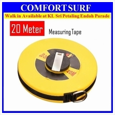 20M Hand Disc Flexible Ruler Fiber Measuring Tape Hand Tools 20 Meter