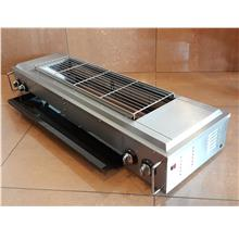 Gas fumeless roaster (With electric fan) ID999129