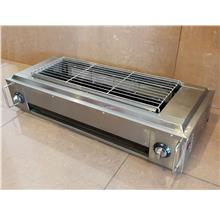 Gas fumeless roaster (With electric fan) ID009130