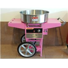 Gas candy floss machine with cart 520mm ID999139