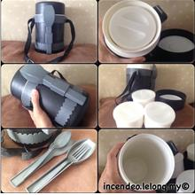 **incendeo** - Complete Lunch Container with Folk and Spoon