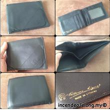 **incendeo** - Authentic E  A I G N E R Germany Black Leather Wallet