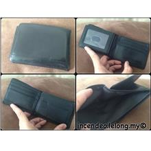 **incendeo** - Authentic F0SSIL Black Genuine Leather Wallet