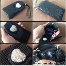 **incendeo** - BEEB Black Diamond Heart Phone Carrying Case