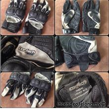 **incendeo** - CORTECH HDX Motorcycle Leather Gloves for Ladies