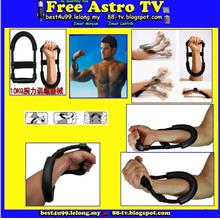 Wrist Strength Trainer Exerciser Pergelangan Tangan Forearm Muscle Arm