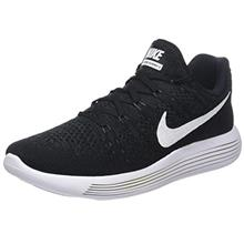 6f5cd7d1cd4dec Nike Mens Lunarepic Low Flyknit 2 Running Shoes Black Anthracite White  863779-