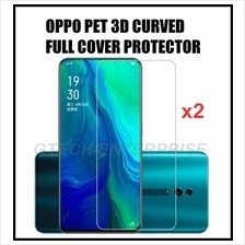 OPPO Find X R15 Pro PET 3D Curved Full Cover Screen Protector 2PCS