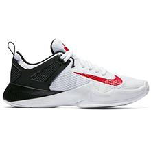 NIKE New Womens Air Zoom Hyperace Volleyball Shoe White Red Black 6 ce06c5f3ff