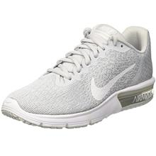 NIKE Air Max Sequent 2 Pure Platinum White Wolf Grey Womens Running Shoes  Size 355eb15dc4