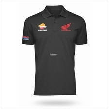 Honda Motorcycle Cotton Polo Shirt