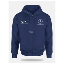 Mercedes GP Full Zip Hooded Sweat Shirt