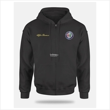 Alfa Romeo Full Zip Hooded Sweat Shirt