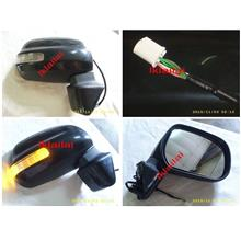 Perodua Alza Door /Side Mirror Set With Signal [5-wire] Per Side LH/RH