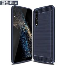 Rugged Armor Case Huawei P20 Pro Silicone Cover Soft Casing