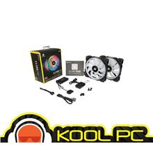* CORSAIR LL140 - ( RGB-2 FANS PACK WITH LIGHTNING NODE PRO )