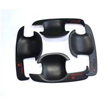 Toyota Hilux Vigo Door Handle Bowl Cover ABS Black