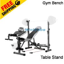 Gym Fitness Multifunction Barbell Weight Lifting Squat Bench Chair