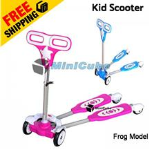 High Quality Top Grade 4 Wheels Frog Scooter Kid Scooter Toy Bicycle