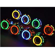 5inch Projector for Head Lamp With Colour CCFL Ring+Angel Eye+HID Set