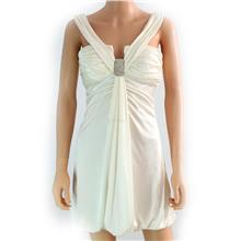 Clearance stock- Eveing dress- White