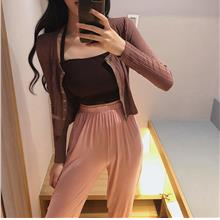 Women Long Sleeve Thin Knitted Cardigan Summer Fashion Sun Screen Oute