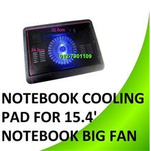 Big Fan USB Notebook Cooling Cooler Pad Compatible W 15.4' Notebook