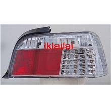 SONAR BMW E36 2Door LED Tail Lamp [CHROME]