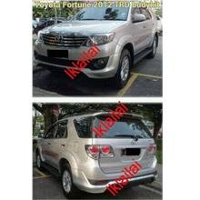 Toyota Fortuner '12 TRD Style Body Kit [Front & Rear Skirt] ABS