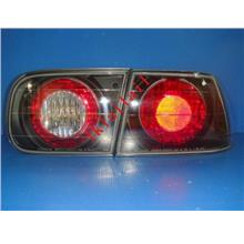 Honda Civic SR/EG '92-95 2D/4D Crystal Tail Lamp Black Housing