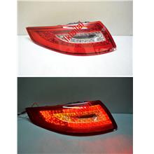 DEPO Porsche 911/997 `05 Tail Lamp Crystal LED Red/Clear