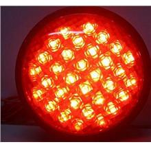 4inch Round Blinking/Flashing Brake Light LED 12V/24V