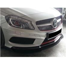 Mercedes A-Class W176 '13 Avantgarde Revo Look Front Lip W/Carbon