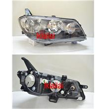 Mitsubishi Fortis Lancer  08-13 Crystal Head lamp Black